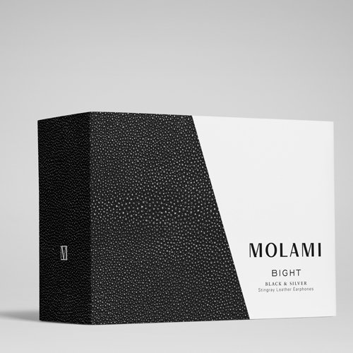Molami Bight 04090813 Earbud Fashion Headphone (Black/Stingray) by Molami (Image #3)