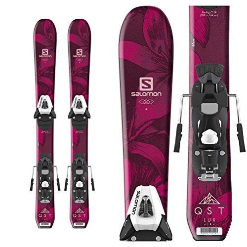 Salomon QST Lux Jr. Kids Skis with C5 Bindings 2019-70cm