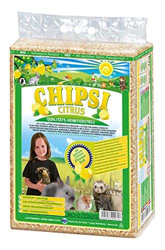 Chipsi 28204 Einstreu Citrus 60 Liter