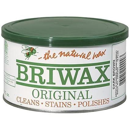 Amazon Com Briwax Darkbrown Dark Brown Furniture Wax Cleans