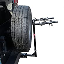 Kage Racing BK2 Two-Bike Rack Carrier for 1-1/4-Inch and 2-Inch Hitch