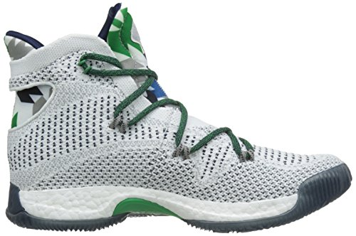 Adidas Herren Pazzo Basketballschuhe Esplosiva Blanco (ftwbla / Maruni / Grpumg)