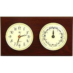 Bey-Berk International Parkstone Tide Wall Clock - 6 Inches Wide