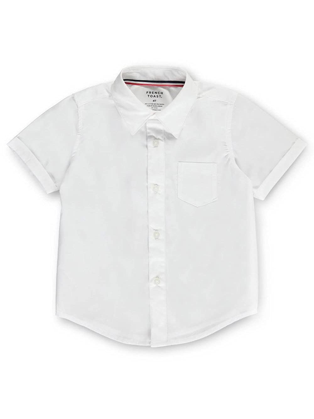 French Toast Little Boys' S/S Button-Down Shirt