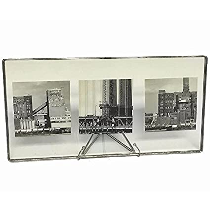 Amazon.com - Clear Glass Float Frame 11x5.50/10x4 Silver by Bedford ...
