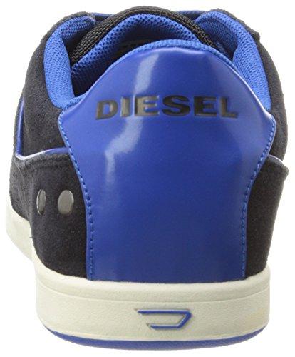 Diesel Mens Eastcop Gotcha Sneaker T Nero