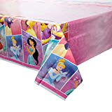 "Disney Princess Plastic Tablecloth, 84"" x 54"""
