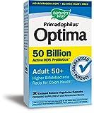 Nature's Way Primadophilus Optima Adult 50+ 50 Billion Vcap, 30 Count