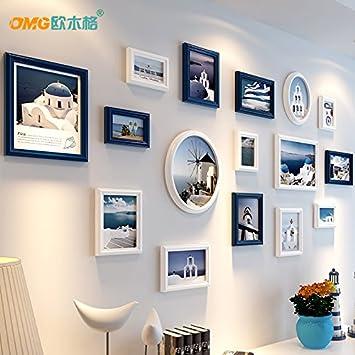 Amerikanisches Wohnzimmer Wand Foto Wand Mediterrane Einrichtung
