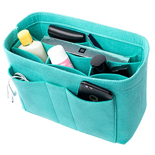 Pm Blue Handbag (handbag purse organizer, 3 sizes, 6 color (x-large, blue))