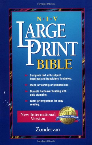 NIV Worship Bible, Large Print