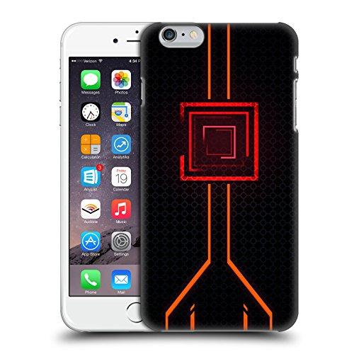 Official Alyn Spiller Orange Neon Hard Back Case for iPhone 6 Plus/iPhone 6s - Neon Plus Iphone Orange Case 6