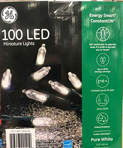 Ge 100 Count Led Christmas Lights