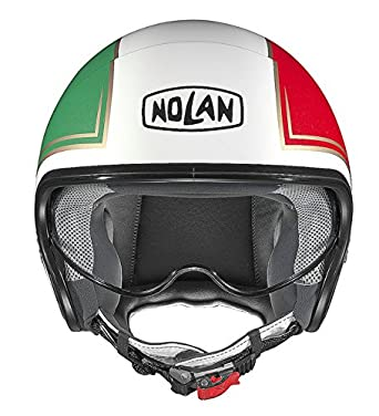 Casco Jet para moto y Scooter Nolan N21 Tricolor Color 31 talla M