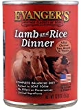 EVANGER'S Classic Lamb and Rice Dinner for Dogs, 12 Pack, 13-Ounce Cans