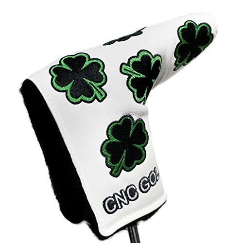 Lucky Clover Putter Cover Headcover For Scotty Cameron Taylormade Odyssey Blade