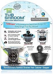 TubShroom Revolutionary Bath Tub Drain Protector Hair Catcher/Strainer/Snare
