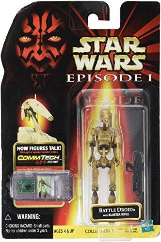 Star Wars Episode 1 Figure Battle Droid Dirty Comm-Tech