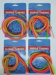 JEROS TACKLE SURGE RIG EEL TUBES MUSTAD 7//0 GREEN 2