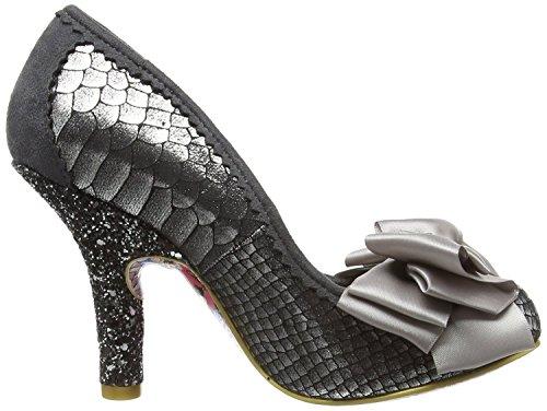 Grey Womens Shoes Gold Choice Irregular Heels Ascot Court Bq4nE