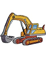 Heavy Machinery Patch - Excavator Construction Shovel Tractor Vehicle Applique