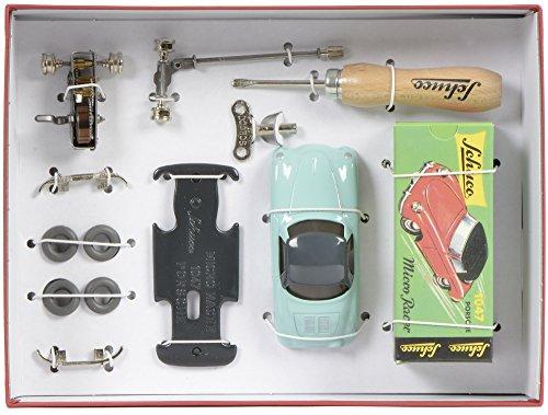 Schuco Model Kit MicroRacer Porsche 356 green - Mechanical Tin Toy