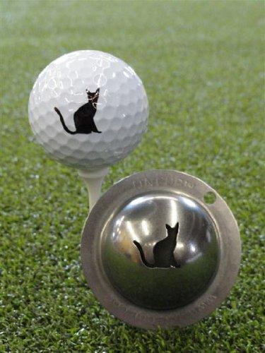 Cup Nine - Tin Cup Nine Lives Golf Ball Custom Marker Alignment Tool 9 Lives
