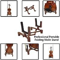 NszzJixo9 soporte plegable profesional para violín de instrumento ...