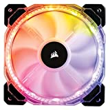 Corsair HD Series, HD120 RGB LED, 120mm High Performance Individually Addressable PWM Fans Part Cooling (CO-9050065-WW)