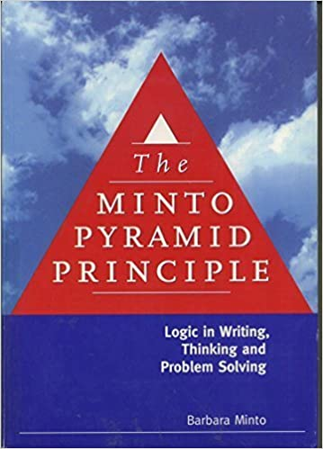 the pyramid principle: logic in writing and thinking pdf download free