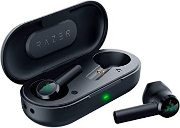 Razer Hammerhead True Wireless Bluetooth Earbuds Ultra Low Latency Water Resistant Bluetooth 5 0 Auto Pairing Classic Black Amazon Ca Cell Phones Accessories