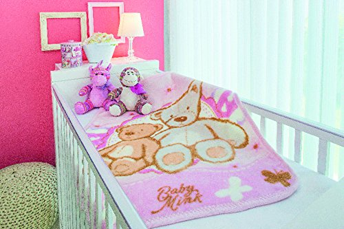 BabyMink Tessy Bear Baby Bag Blanket Classic Day and Night Comfort