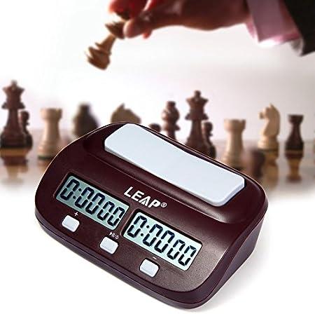 Adecuado para el hogar y torneos: juegos de mesa. Disponible para ajedrez chino, ajedrez internacion
