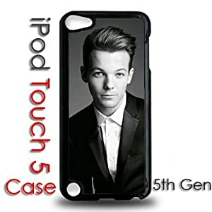 IPod 5 Touch Black Plastic Case - Louis Tomlinson 1D Boy Band Cute