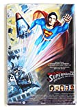 peace quest - Superman 4: Quest for Peace Movie Poster Fridge Magnet (2.5 x 3.5 inches)