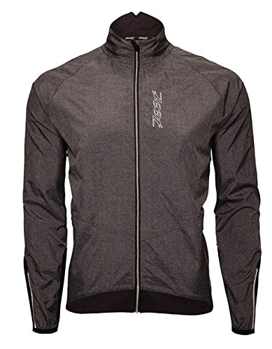 ZOOT Men's Ultra Flex Wind Jacket, Black/Heather/Black, Large by Zoot