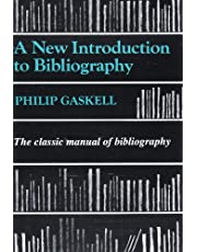 New Introduction to Bibliography Pb