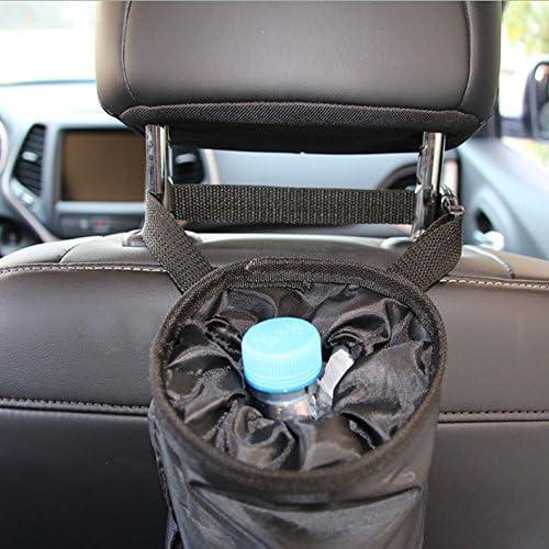 Grey reversible litter bag Car Trash Bag Car caddy