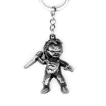 El Muñeco Diabólico - Chucky: Llavero: Amazon.es: Juguetes y ...