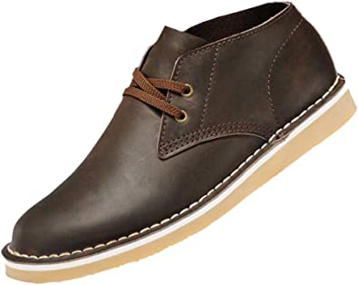 Zmlsc Derby Plat Chaussures en Cuir pour