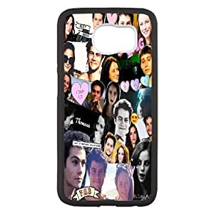 Samsung Galaxy S6 funda Negro [funda dura de la PC de la contraportada + HD Pattern] The Maze Runner Series [Numeración: FHJSFOHSK2838]