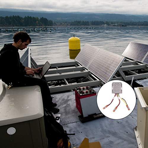 UPKOCH Mppt Solarladeregler 13. 8V Negativ Geerdeter Solarladeregler für Die Einstellung des Last-Timers im Innen- Und Außenbereich