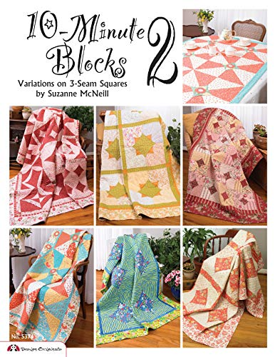 (10-Minute Blocks 2: Variations on 3-Seam Squares)