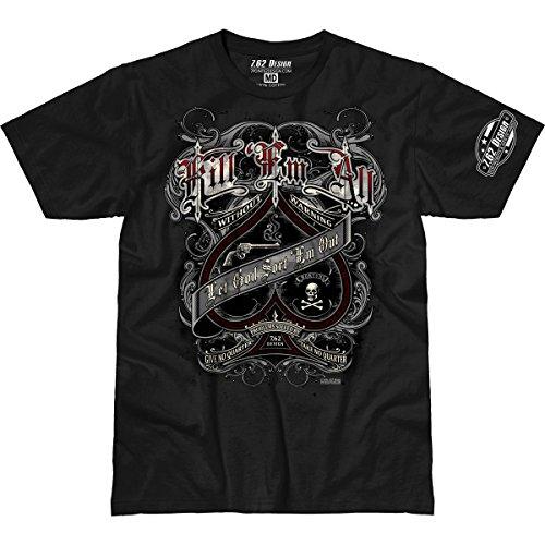 'Kill 'Em All' 7.62 Design Premium Men's T-Shirt XL