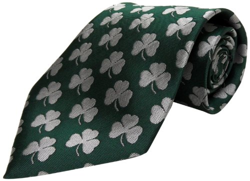 Ireland Repeating Shamrock Tie (Shamrock Bay)