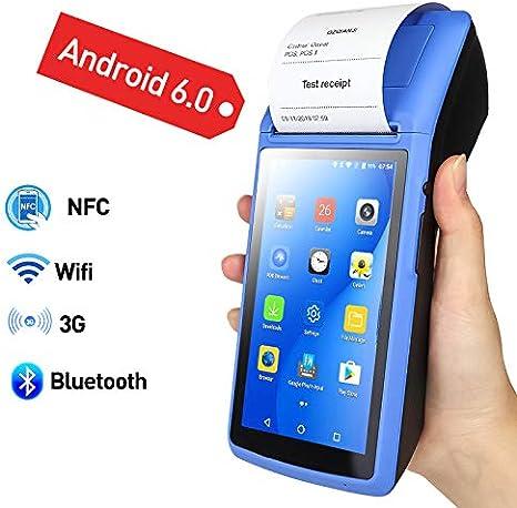 TQ Dispositivo WiFi Terminal portátil Android POS PDA Bluetooth de ...