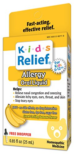 (Kids Relief Allergy Oral Solution, 0.85 Fluid Ounce (25 ml))