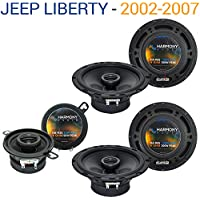 Jeep Liberty 2002-2007 OEM Speaker Replacement Harmony (2) R65 R35 Package