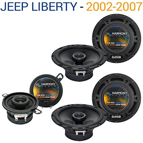 jeep liberty 2002 2007 oem speaker replacement harmony (2) r65 r35