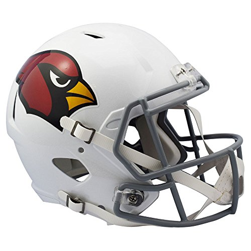 Arizona Cardinals Color Rush Chrome Decal Officially Licensed Speed Full Size Replica Football (Riddell Arizona Cardinals Replica Helmet)